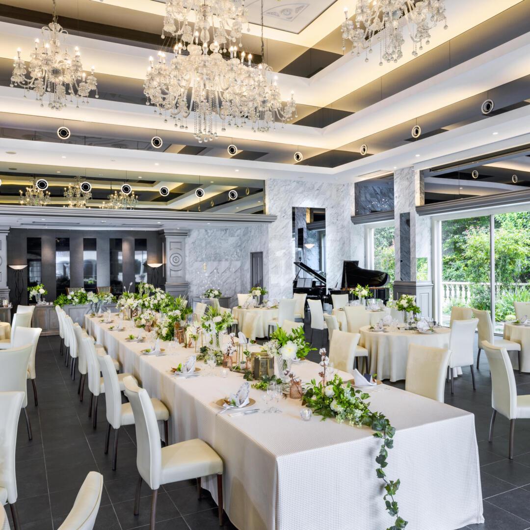 結婚式と少人数でのお食事会プラン