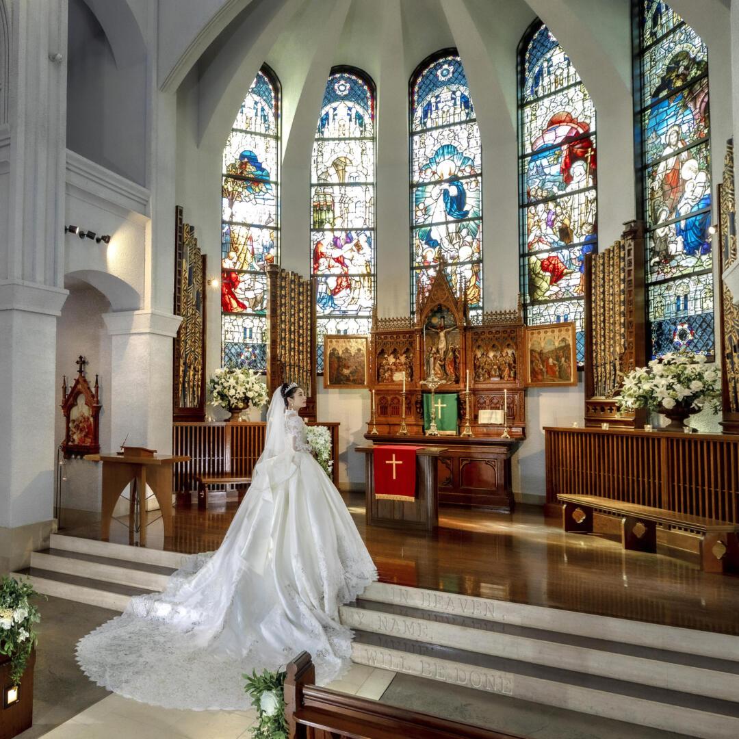 大聖堂挙式プラン